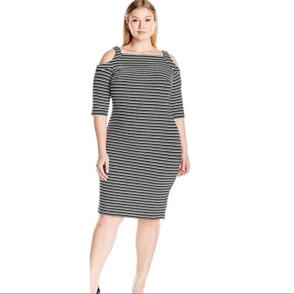 fb3c70894ab Plus Size NWT Gabby Skye Stripe Dress